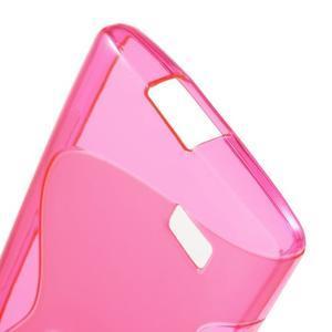 S-line gelový obal na mobil LG Leon - rose - 4