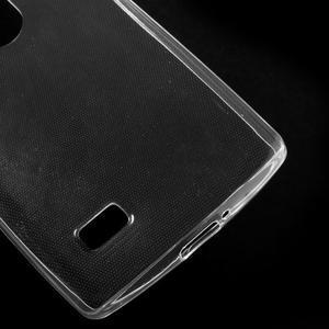 Ultratenký gélový obal pre mobil LG Leon - transparentný - 4