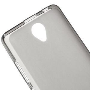 Gélový obal pre mobil Lenovo A5000 - šedé - 4