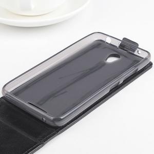 Flipové puzdro pre mobil Lenovo A5000 - čierné - 4