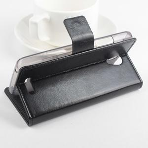 GT peňaženkové puzdro na Lenovo A5000 - čierné - 4