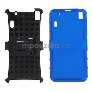 Odolne puzdro pre Lenovo K3 Note a Lenovo A7000 - modré - 4