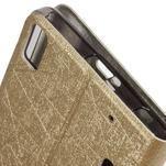 Klopové puzdro na Lenovo A7000 a Lenovo K3 Note -  zlaté - 4/6