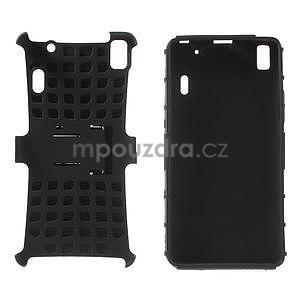 Odolne puzdro pre Lenovo K3 Note a Lenovo A7000 - čierne - 4