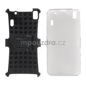 Odolne puzdro na Lenovo K3 Note a Lenovo A7000 - biele - 4