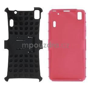 Odolne puzdro na Lenovo K3 Note a Lenovo A7000 - rose - 4