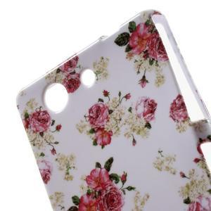 Gélový obal pre Sony Xperia Z3 mini - roses - 4