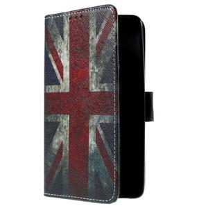 Cross peňaženkové puzdro na Xiaomi Mi4 - UK vlajka - 4