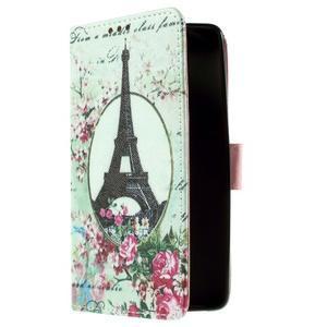 Cross peňaženkové puzdro na Xiaomi Mi4 - Eiffelova veža - 4