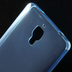 Ultratenký slim gélový obal pre Xiaomi Mi4 - modrý - 4
