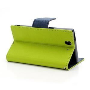 Mr. Goos peňaženkové puzdro na Sony Xperia Z - zelené - 4