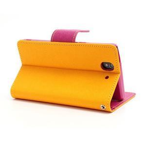 Mr. Goos peňaženkové puzdro pre Sony Xperia Z - žlté - 4
