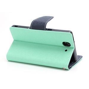 Mr. Goos peňaženkové puzdro pre Sony Xperia Z - azurové - 4