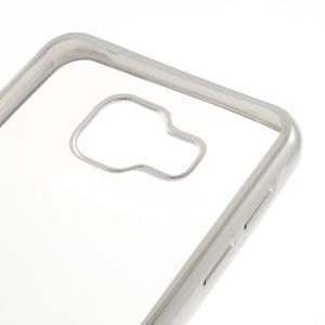 Rich gelový obal se stříbrným obvodem na Samsung Galaxy A3 (2016) - 4