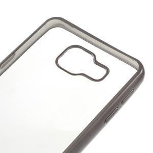 Rich gélový obal s šedým obvodem pre Samsung Galaxy A3 (2016) - 4