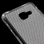 Diamonds gelový obal na Samsung Galaxy A3 (2016) - transparentní - 4/5
