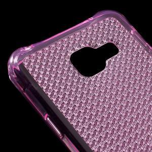 Diamonds gélový obal pre Samsung Galaxy A3 (2016) - ružový - 4