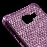 Diamonds gélový obal pre Samsung Galaxy A3 (2016) - ružový - 4/5