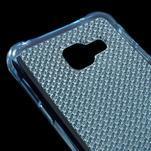Diamonds gélový obal pre Samsung Galaxy A3 (2016) - modrý - 4/5