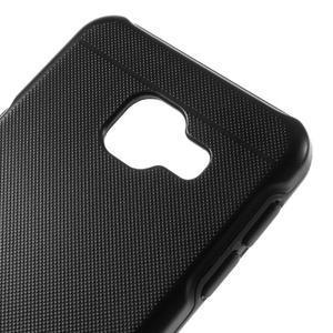 Odolný ochranný obal 2v1 pre mobil Samsung Galaxy A3 (2016) - čierný - 4