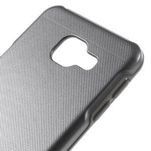 Odolný ochranný obal 2v1 pre mobil Samsung Galaxy A3 (2016) - šedý - 4
