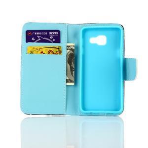 Rich PU kožené puzdro pre mobil Samsung Galaxy A3 (2016) - neprestávaj  snívať - 4