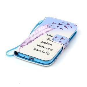 Pictu puzdro pre mobil Samsung Galaxy Core Prime - ptáčkové - 4