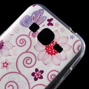Ultratenký slim obal pre Samsung Galaxy Core Prime - motýlek - 4
