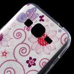 Ultratenký slim obal pre Samsung Galaxy Core Prime - motýlek - 4/5