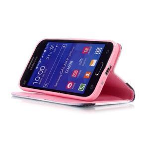 Pictu puzdro pre mobil Samsung Galaxy Core Prime - pery - 4