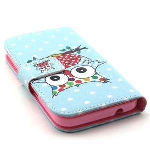 Puzdro na mobil Samsung Galaxy Core Prime - sova - 4