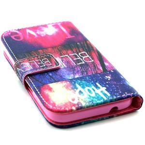 Puzdro pre mobil Samsung Galaxy Core Prime - believe - 4