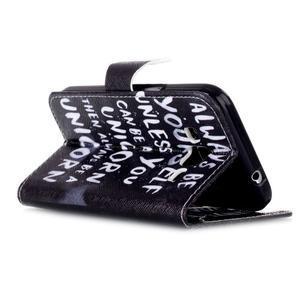 Emotive peňaženkové puzdro pre Samsung Galaxy Core Prime - unicorn - 4