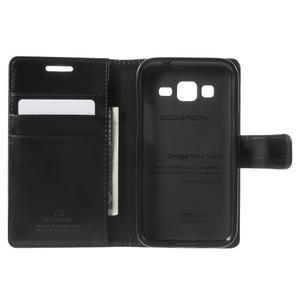 Moonleather PU kožené puzdro pre Samsung Galaxy Core Prime - čierne - 4