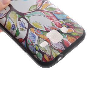Hardy gélový obal pre mobil Samsung Galaxy Core Prime - malovaný strom - 4