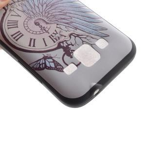 Hardy gelový obal na mobil Samsung Galaxy Core Prime - antické hodiny - 4