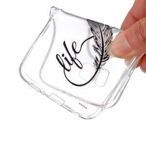Transparentný gélový obal pre Samsung Galaxy Core Prime - love - 4