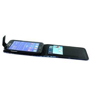 Flipové puzdro pre mobil Samsung Galaxy Core Prime - magický vlci - 4