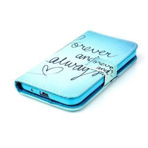 Knížkové pouzdro na Samsung Galaxy Core Prime - love - 4