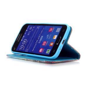 Pictu pouzdro na mobil Samsung Galaxy Core Prime - malované květy - 4