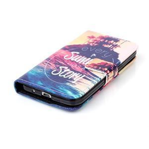 Knížkové puzdro pre Samsung Galaxy Core Prime - letná story - 4