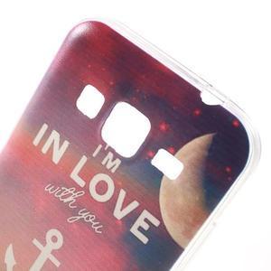 Gelový obal na Samsung Galaxy Core Prime - kotva lásky - 4