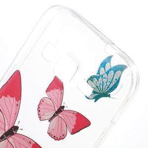 Gelový obal na Samsung Galaxy Core Prime - motýlci - 4