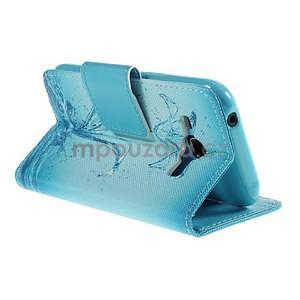 Zapínací puzdro pre Samsung Galaxy J1 - vodní kvetina - 4