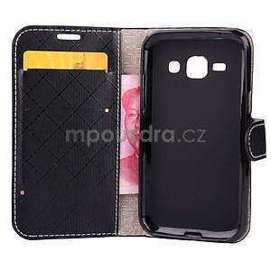 Elegantné puzdro na Samsung Galaxy J1 - čierné - 4