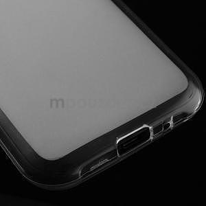 Matný gélový obal na Samsung Galaxy J1 - biely - 4