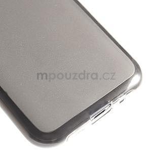 Matný gélový obal na Samsung Galaxy J1 - šedý - 4