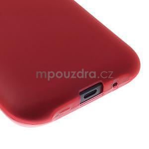 Červený matný kryt pre Samsung Galaxy J1 - 4