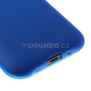 Modrý matný kryt pre Samsung Galaxy J1 - 4