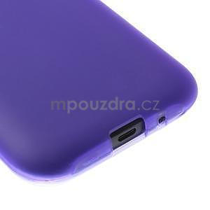 Fialový matný kryt pre Samsung Galaxy J1 - 4